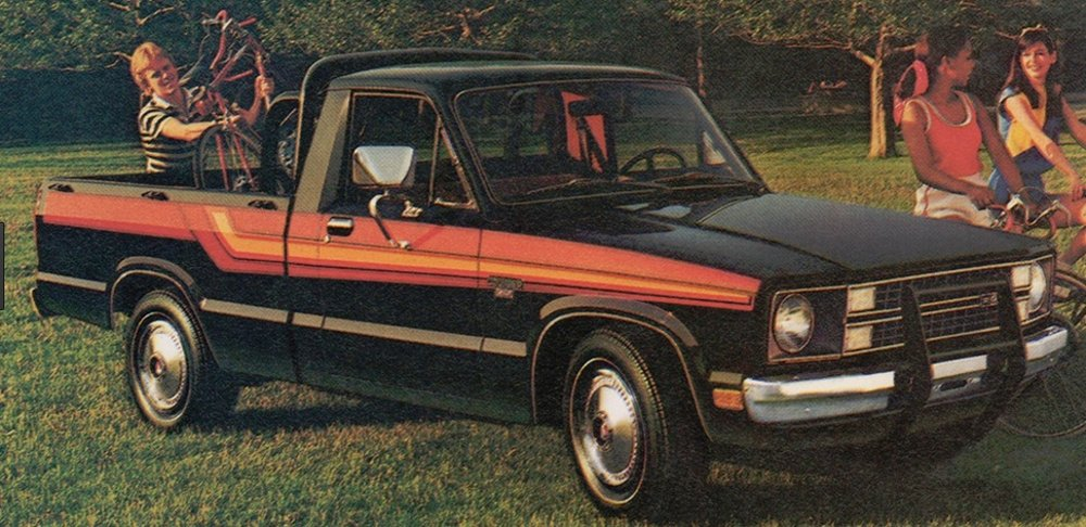 Before the Ranger, Ford Courier was the MPG Champ: Throwback