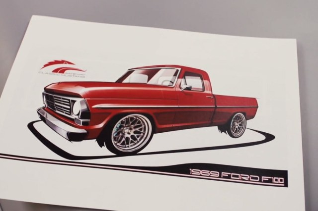 Ford 1969 F-100 SEMA Battle of the Builders