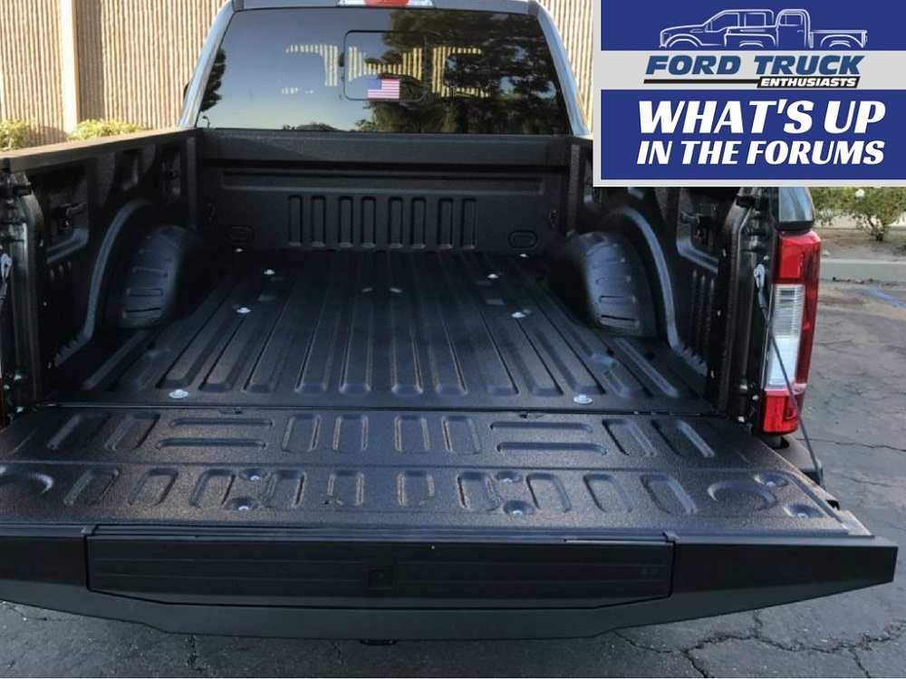 Best Spray On Bedliner Rhino Or Line X Ford Trucks Com