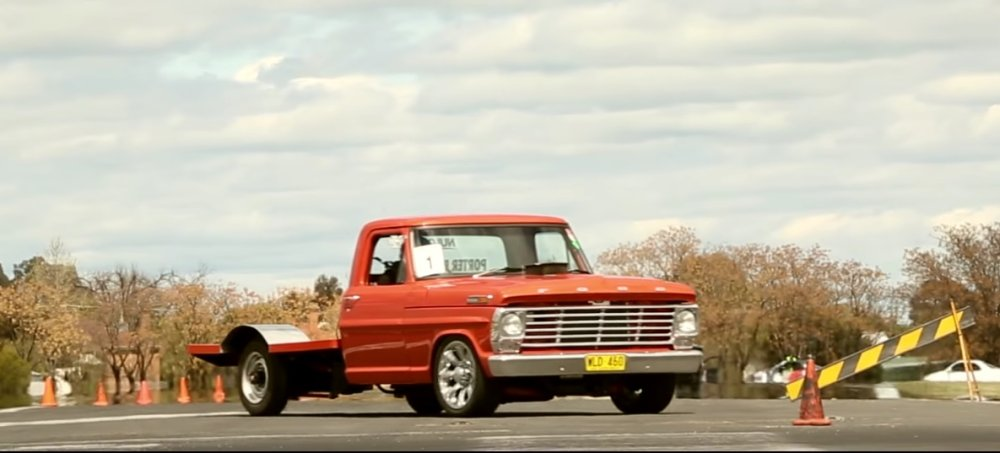 Ford F-100 Packs a Bottled Big Block: Tire Smokin' Tuesday - Ford