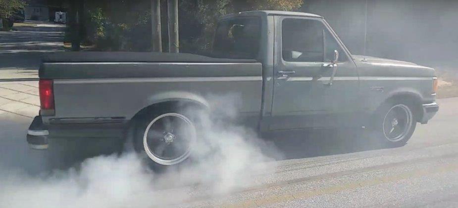 1989 F-150 burnout