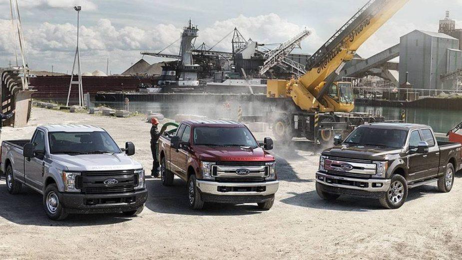 2018 F Series Trucks
