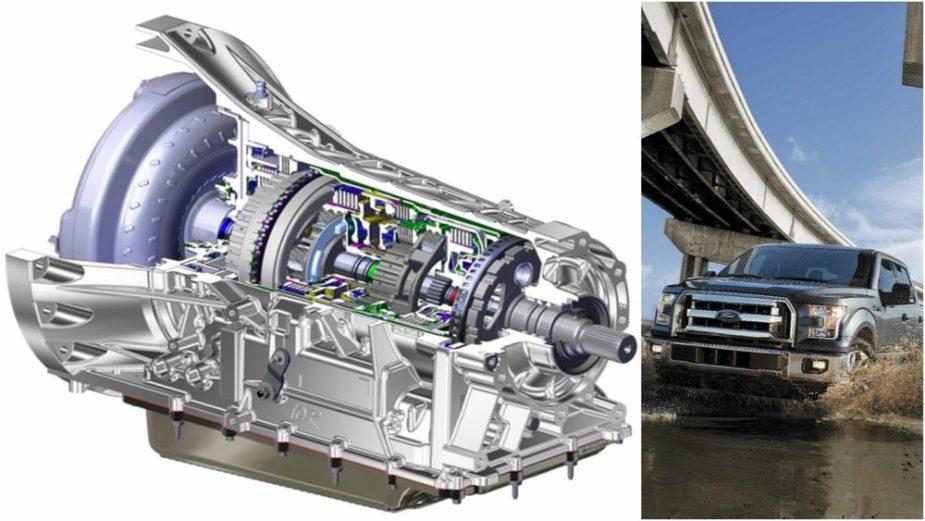 Ford 10-Speed Transmission
