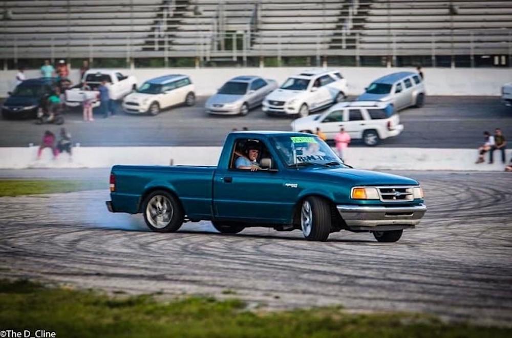 Turbocharged Drift Ford Ranger Is The Best Ranger Ford Truckscom