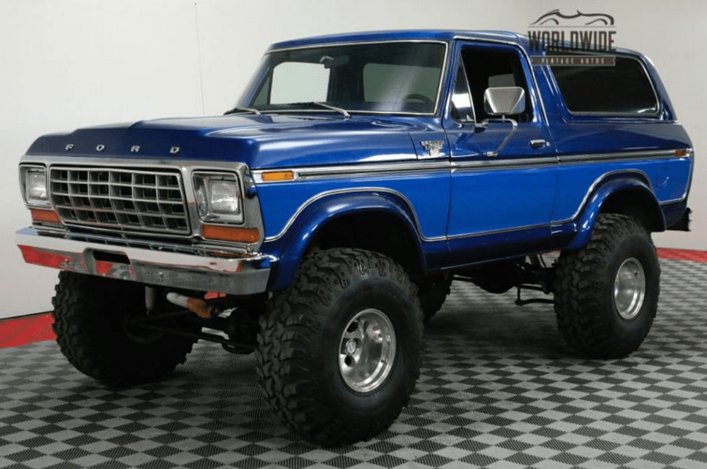 1978 Ford Bronco: Big, Bad, and Very Blue - Ford-Trucks.com