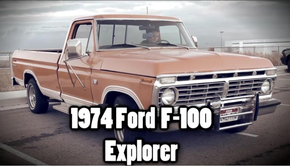 1974 Ford F-100 Explorer
