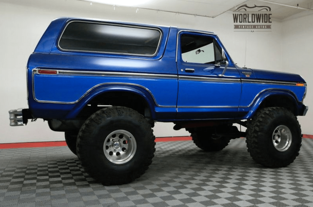 1978 ford bronco big, bad, and very blue ford trucks comFord Bronco 5th Generation Power Distribution #18