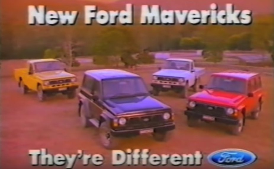 Aussie Ford Maverick Ad