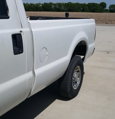 2001 F-250 Bed