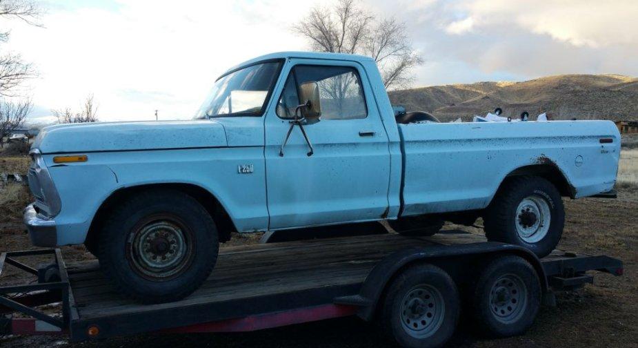 F250 Parts Truck