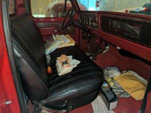1979 F-150 Interior