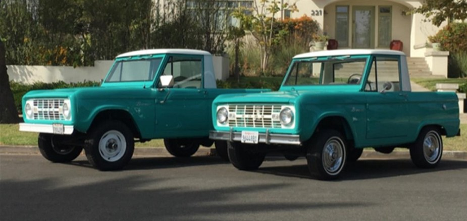 Bronco Half Cab
