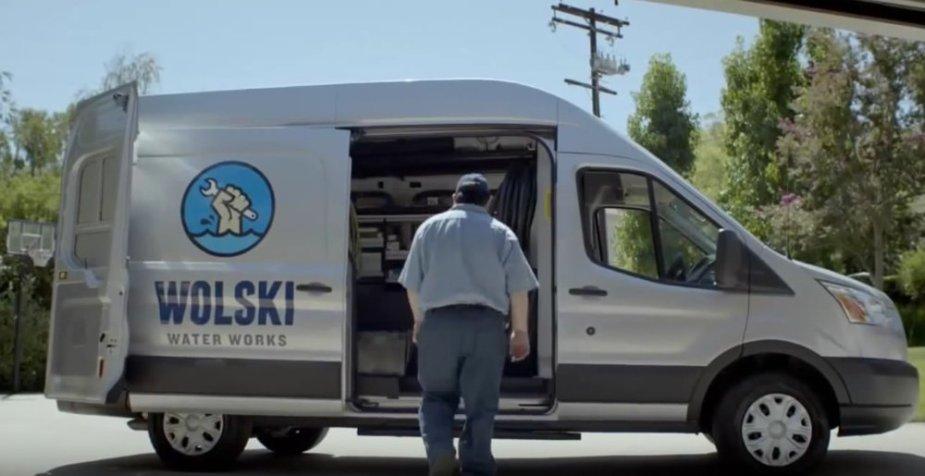 Transit Plumber Van