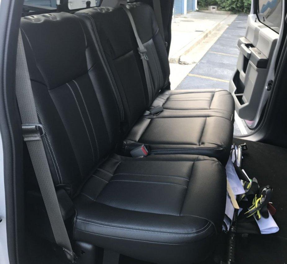 Katzkin Ford Rear Seats