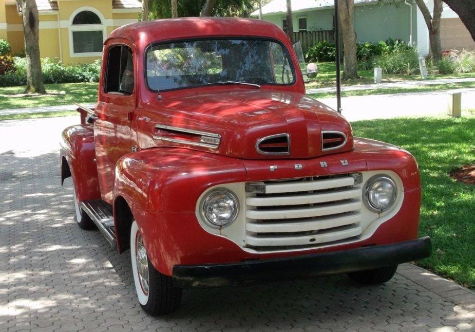 Antique Ford Truck Pre-Restore