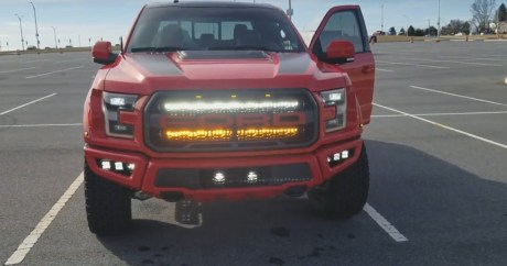 2018 Raptor Takes Race Red to a Whole New Level