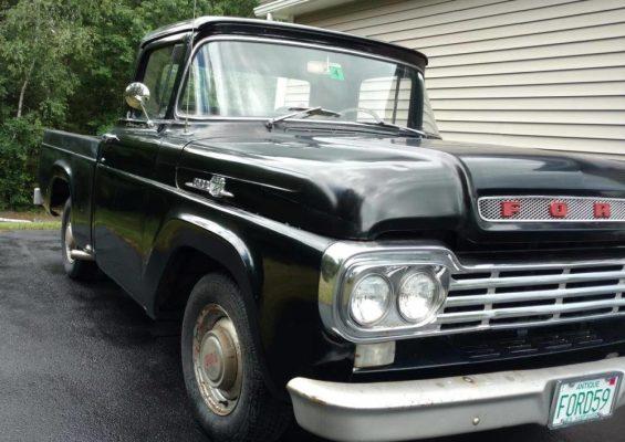 Rare 1959 F-100: Hot Rod or Restore it? - Ford-Trucks com