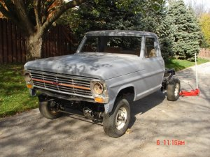 1967 F-100 Front End On