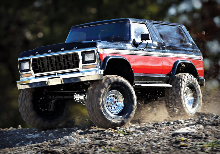 Traxxas 1979 Ford Bronco Model Truck