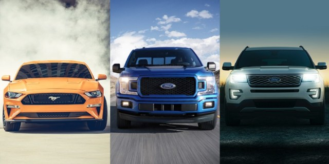 New Ford Vehicle Lineup