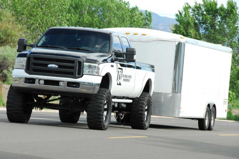F-350 with Newer Mirrors