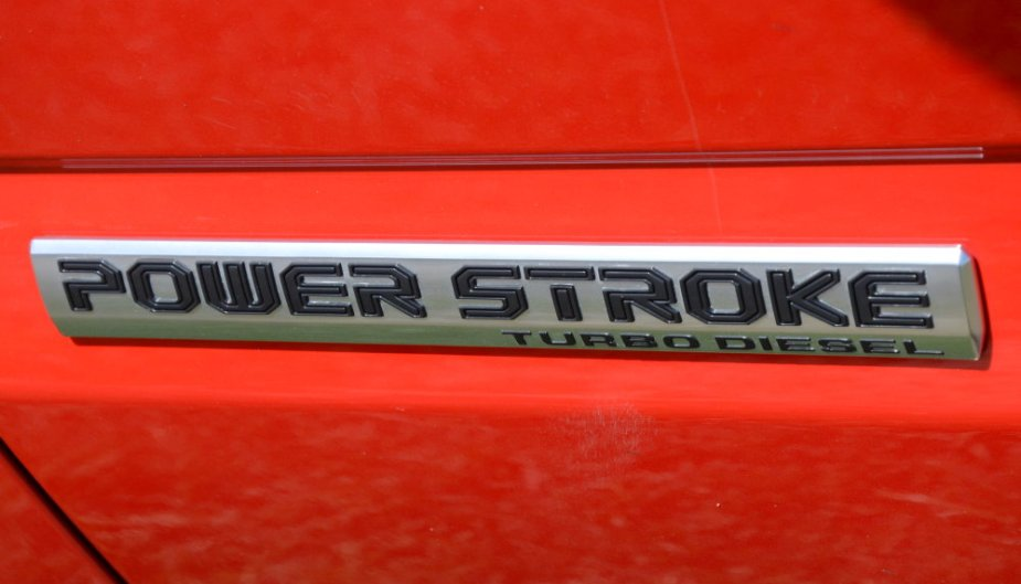 F-150 Power Stroke Badge