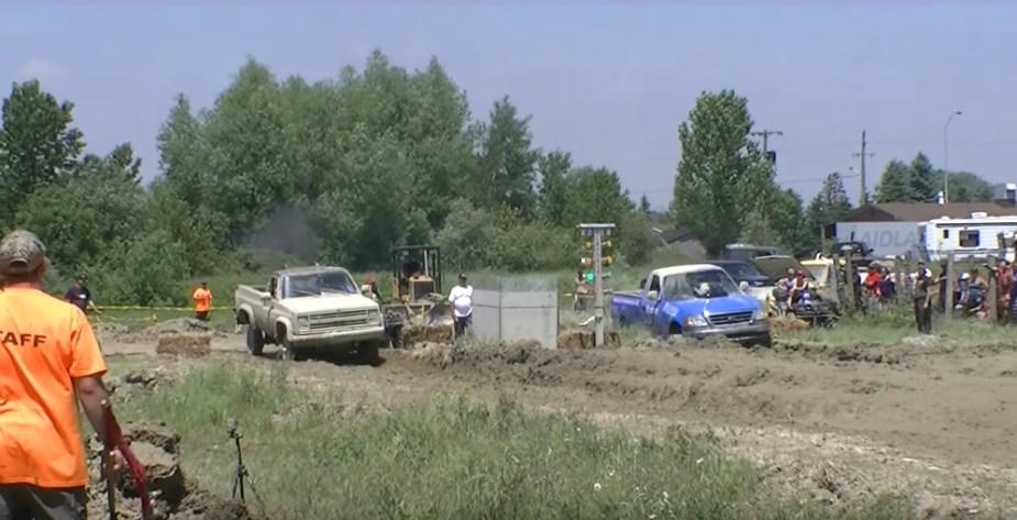 F-150 Vs Chevy in Mud