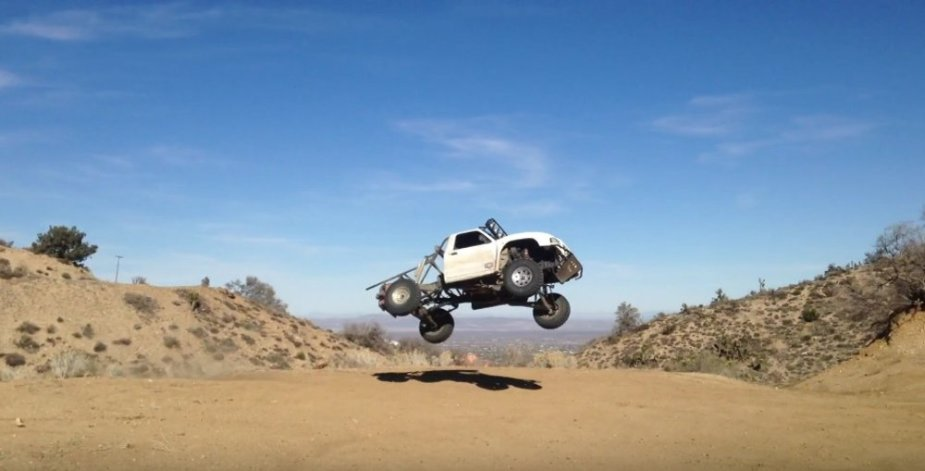 Ranger Race Truck Flying