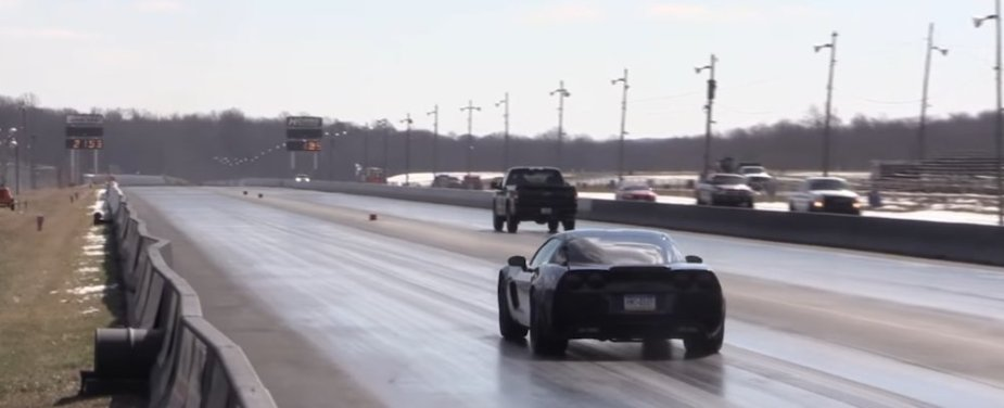 F-150 Beats Corvette