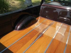 1965 Ford Ranchero bed