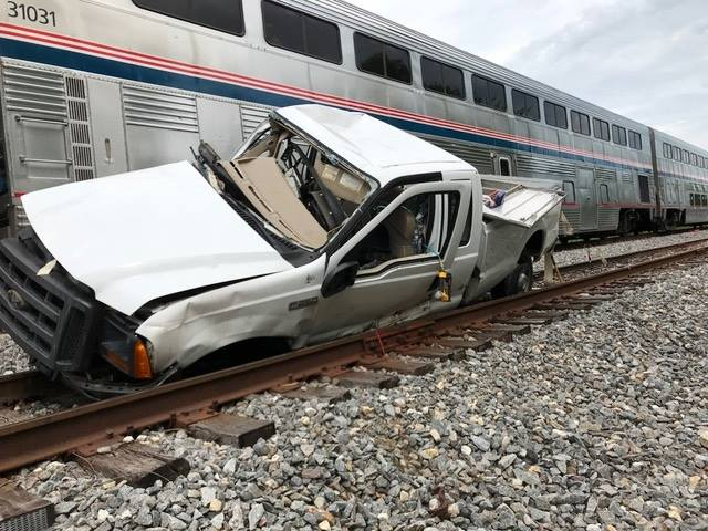 Amtrak vs. F-250