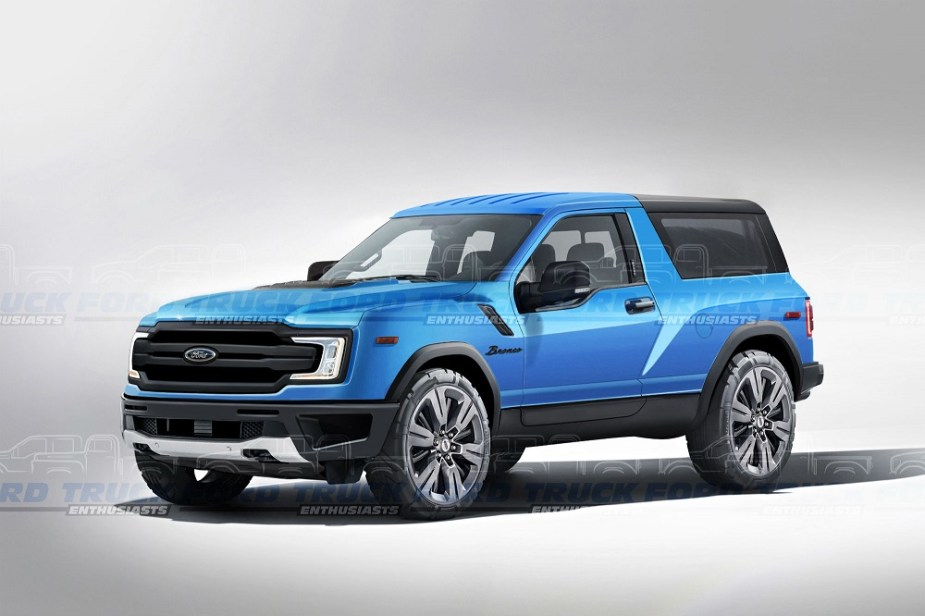 2020 Ford Bronco Countdown Is Officially On
