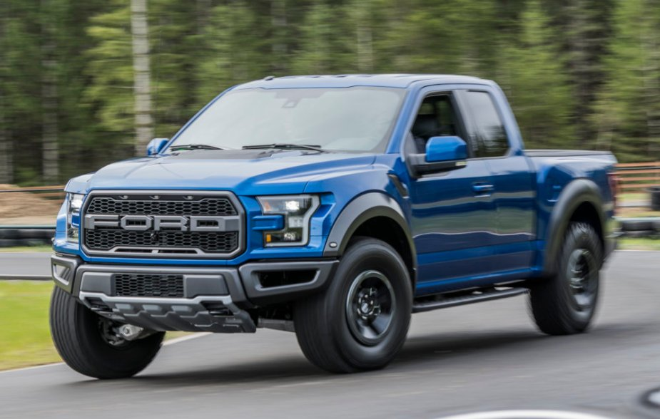 Ford F-150 Raptor on the Road