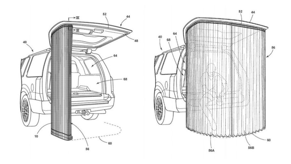 Ford Liftgate Canopy Patent
