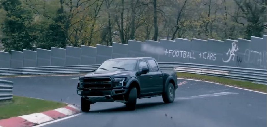 Raptor Drifting at The Ring