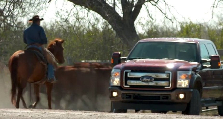 Ford Super Duty at King Ranch