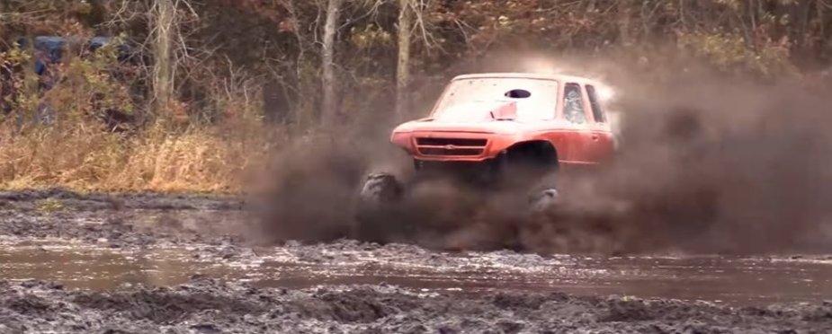 Orange Ranger Mud Trucl Clean