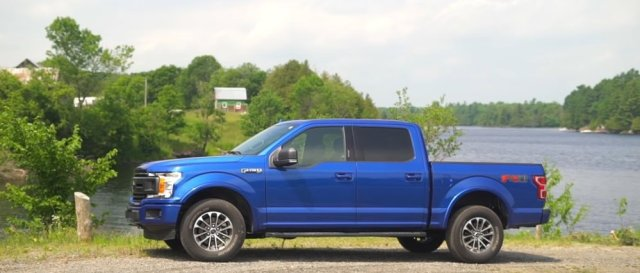 2018 Ford F-150 SuperCrew FX4 Side