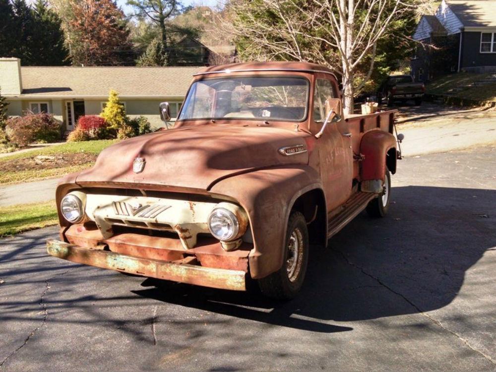 1954 Ford Dump Truck