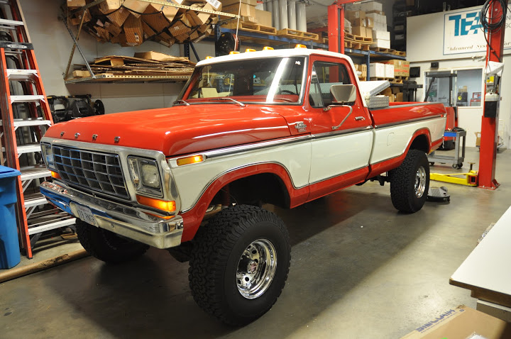 Candy Cane' Is One Tasty Looking 1979 Ford F-350 Build
