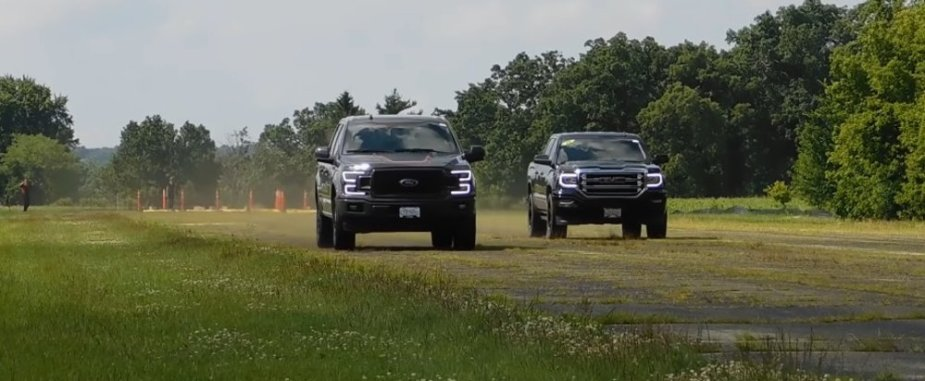 F-150 Leads GMC Sierra