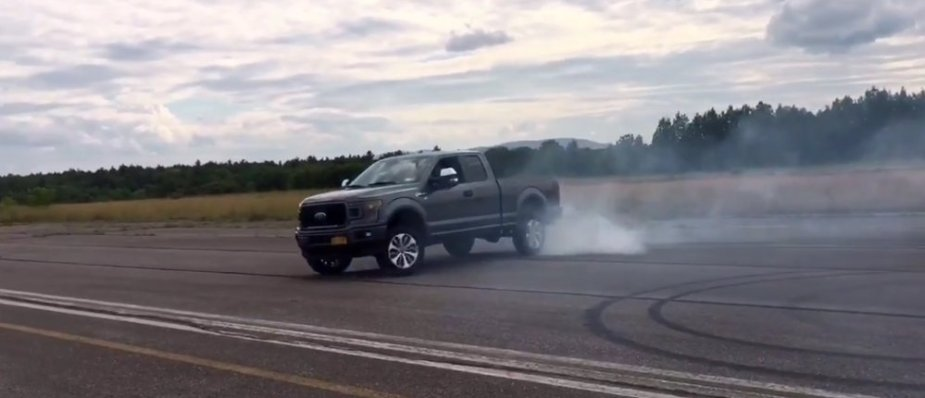 EcoBoost F-150 Donuts