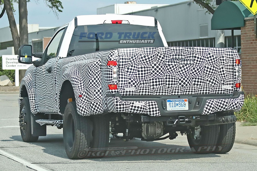 2020 Ford F 350 Super Duty Prototype Spied Testing
