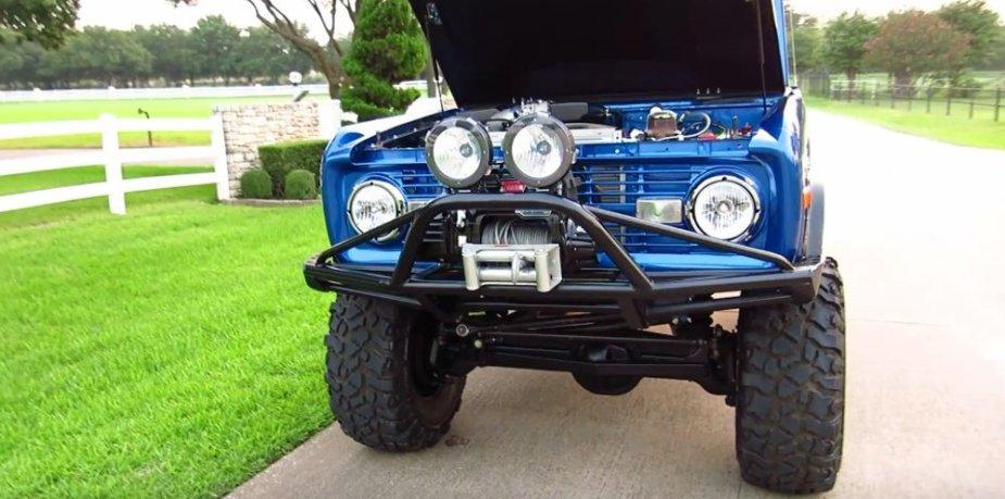 Custom 1972 Bronco Front