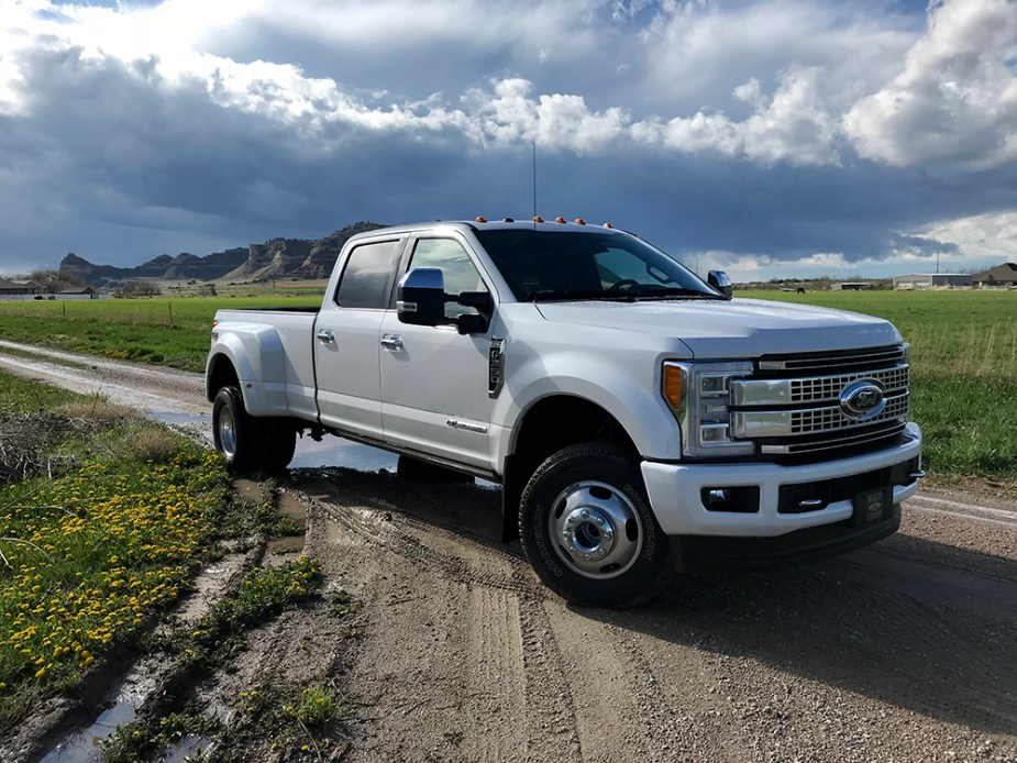 2018 Ford F-350 Platinum 6.7L Power Stroke Diesel