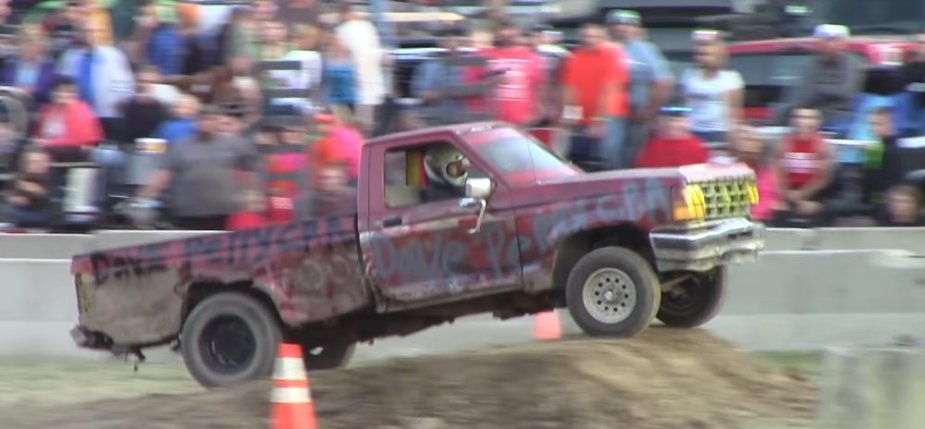 Ranger Race Truck Bad Jump