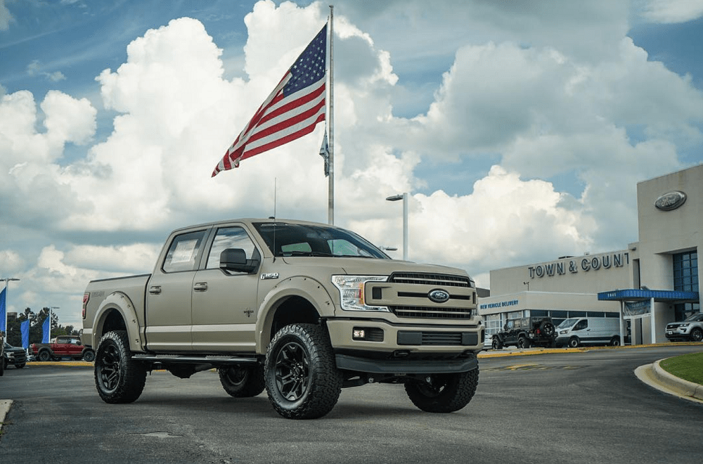 Ford F 150 Military Edition Black Widow Is One Sweet Custom