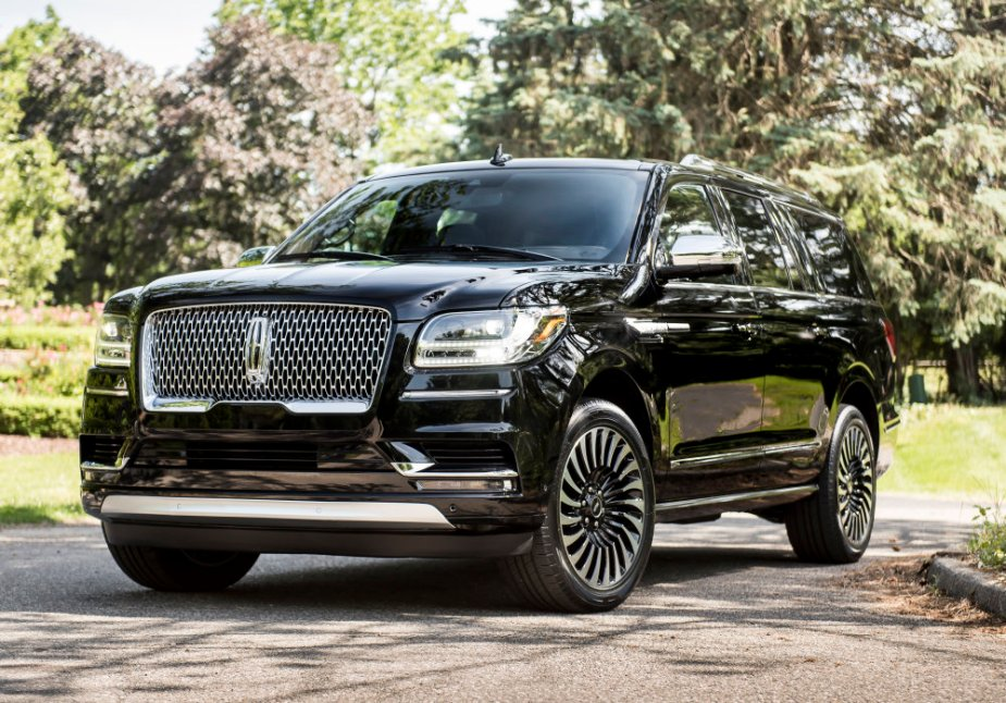 2018 Lincoln Navigator in Black