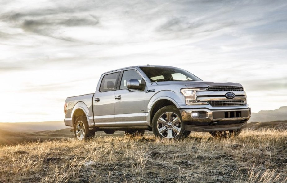 2018 Ford F-150 in Silver