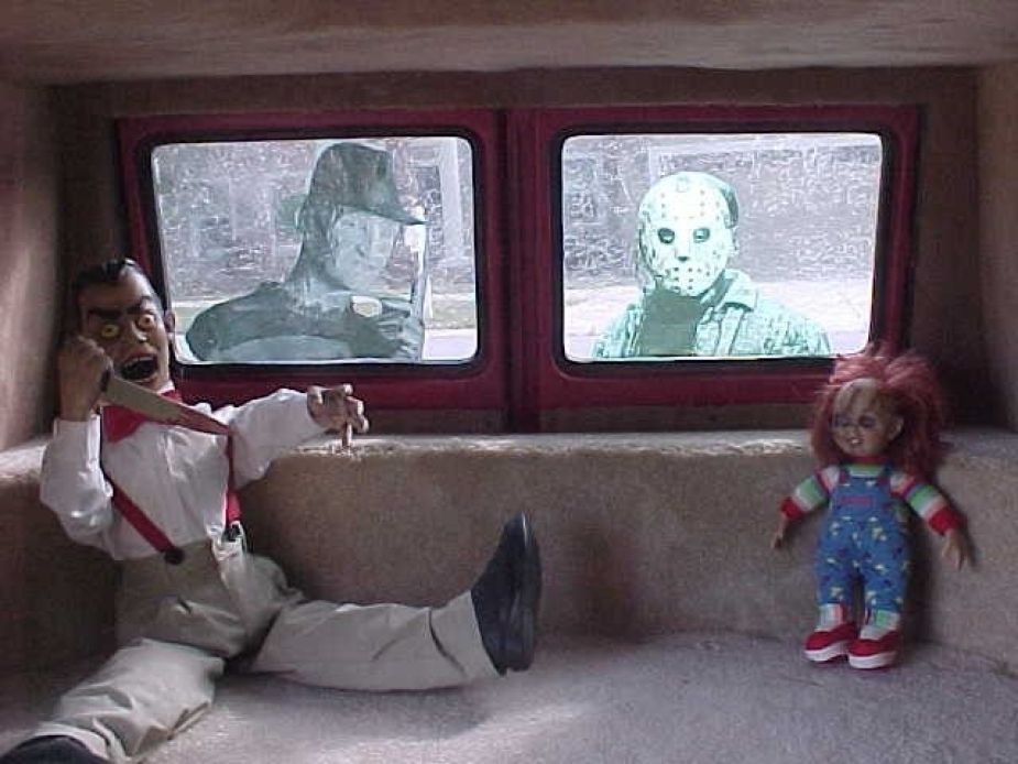 1965 FORD ECONOLINE VAN custom Freddy Krueger vs. Jason Voorhees Friday the 13th